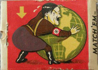 Matchbook - strike match on Hitlers behind